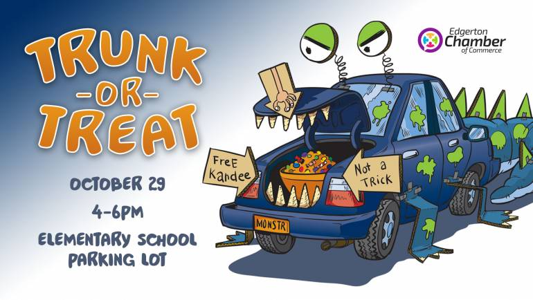 Trunk or Treat coming October 29